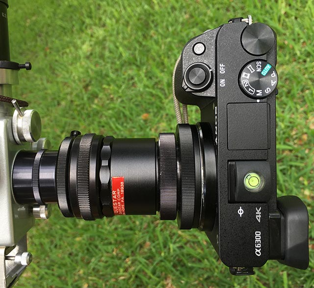 172mm Focal Reducer Not So Bad Astrophotography