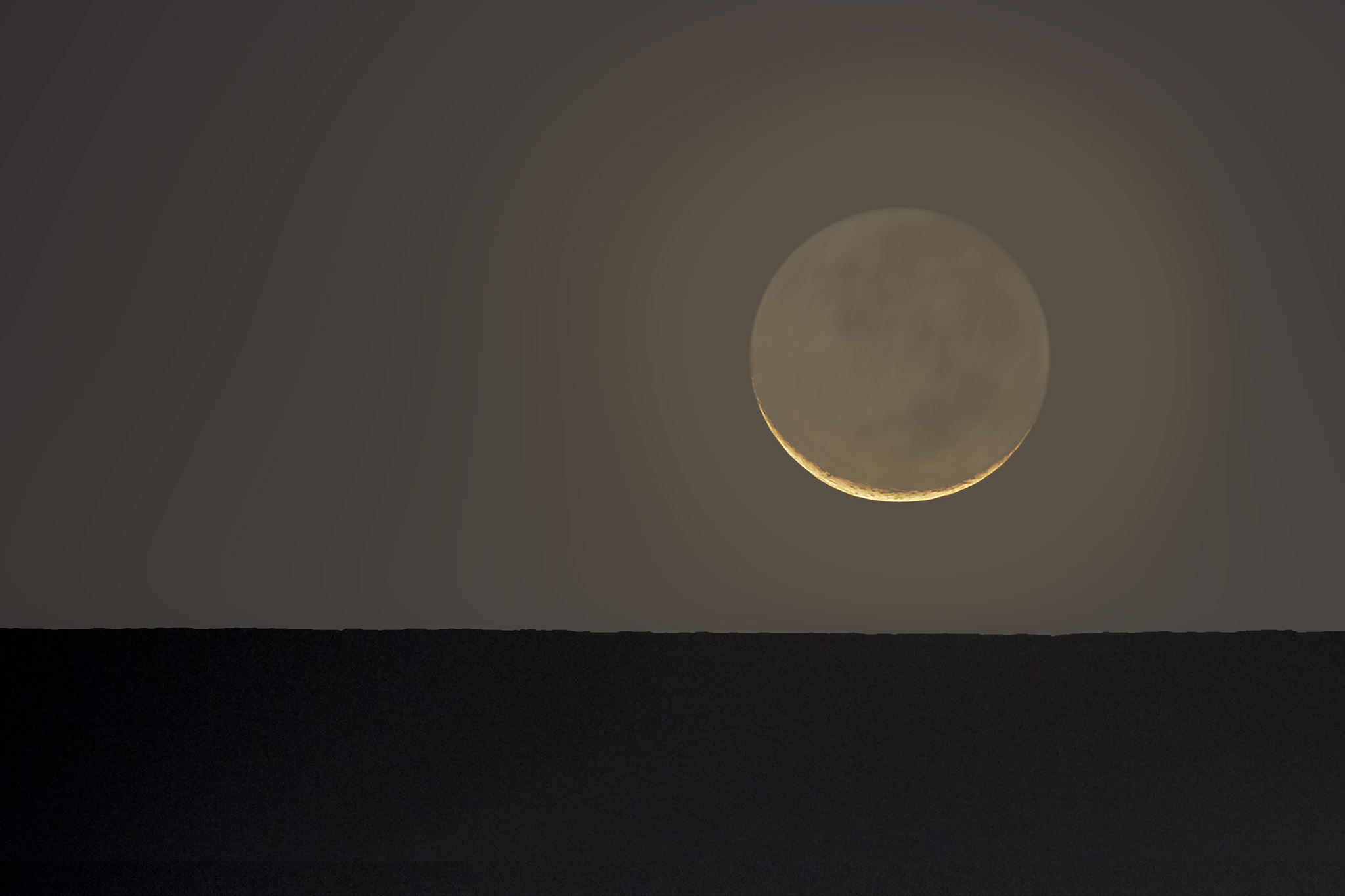 Atacama Crescent Moon