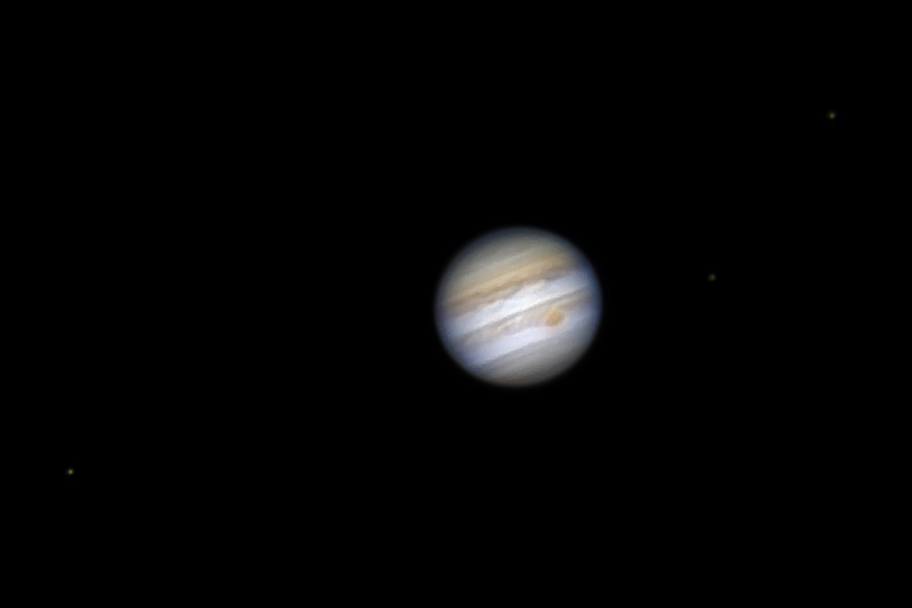 Jupiter at opposition 2017 - Revisited