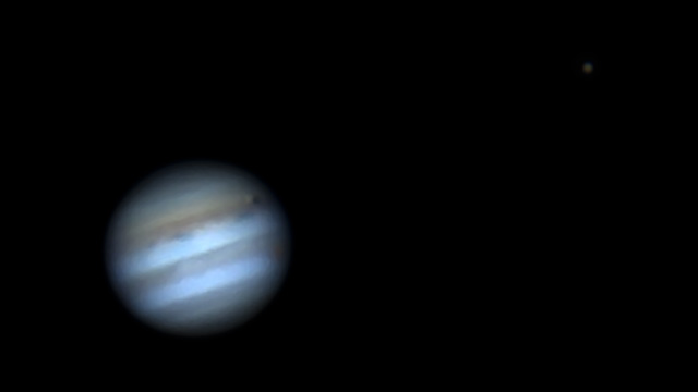 Jupiter transited by Io & its shadow - Revisited