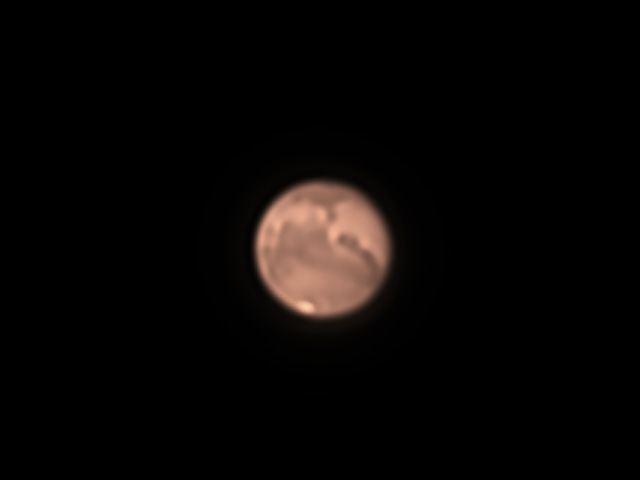 Mars just before 2020 opposition