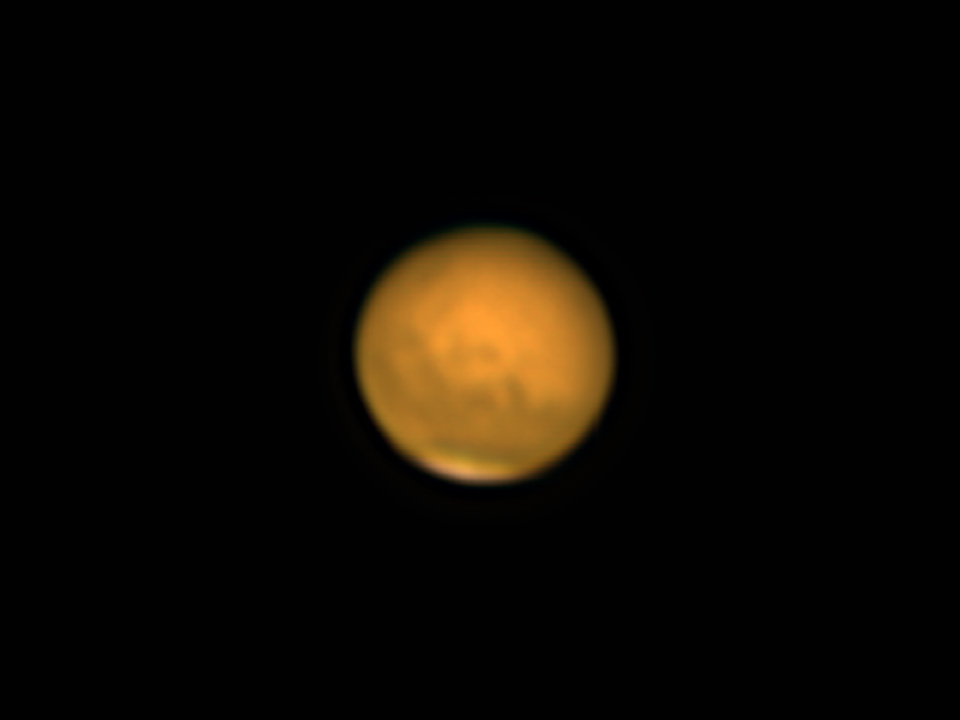 Mars 2018 closest approach