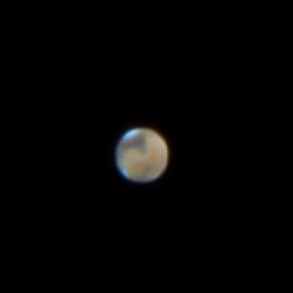 Mars with Syrtis Major in view
