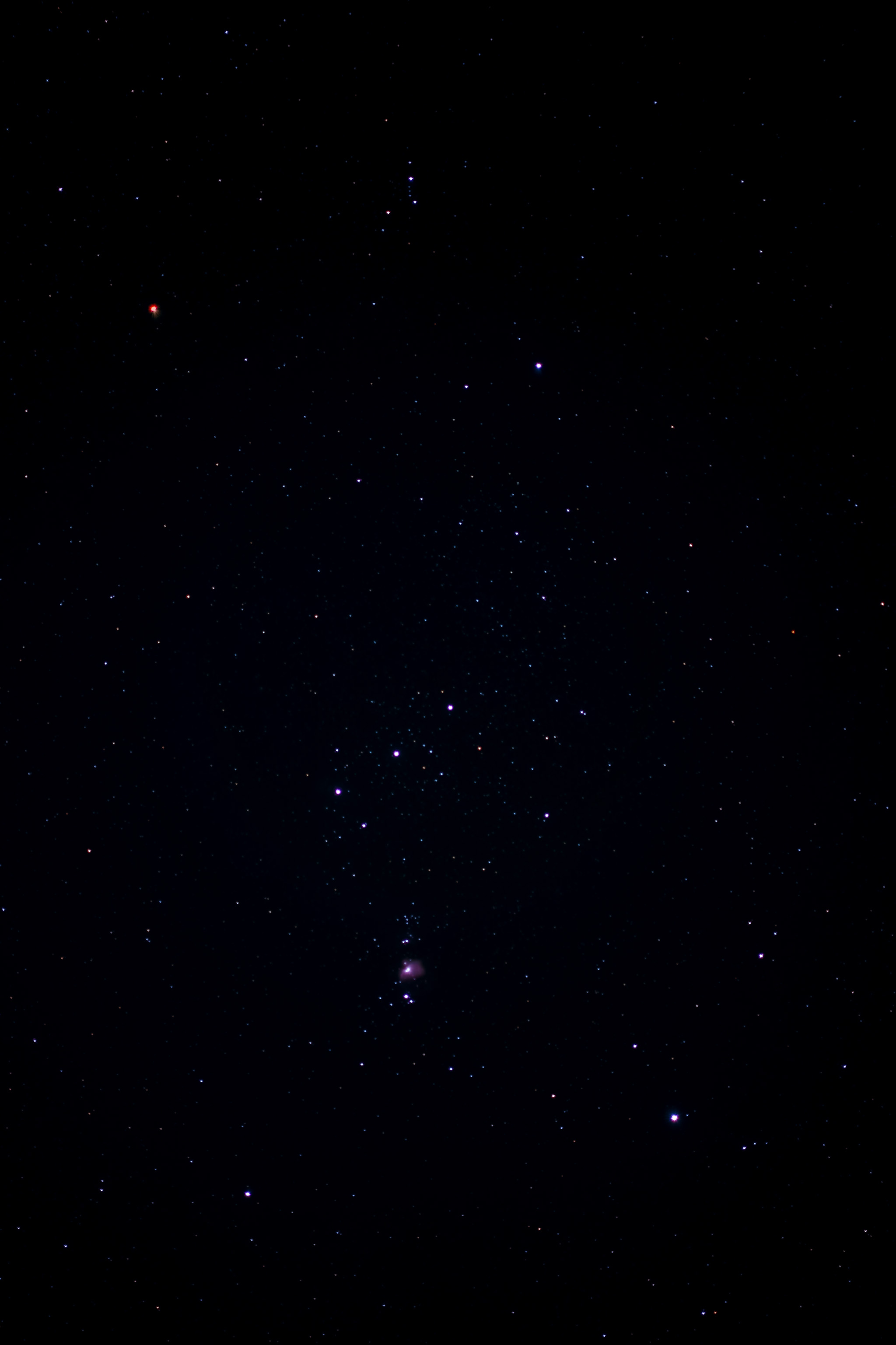 Point and shoot Orion