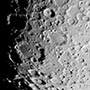 Clavius Tycho Moretus region of the Moon