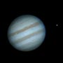 Jupiter with Ganymede Io(transiting) & Europa
