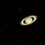 Saturn with five moons 2016-06-18